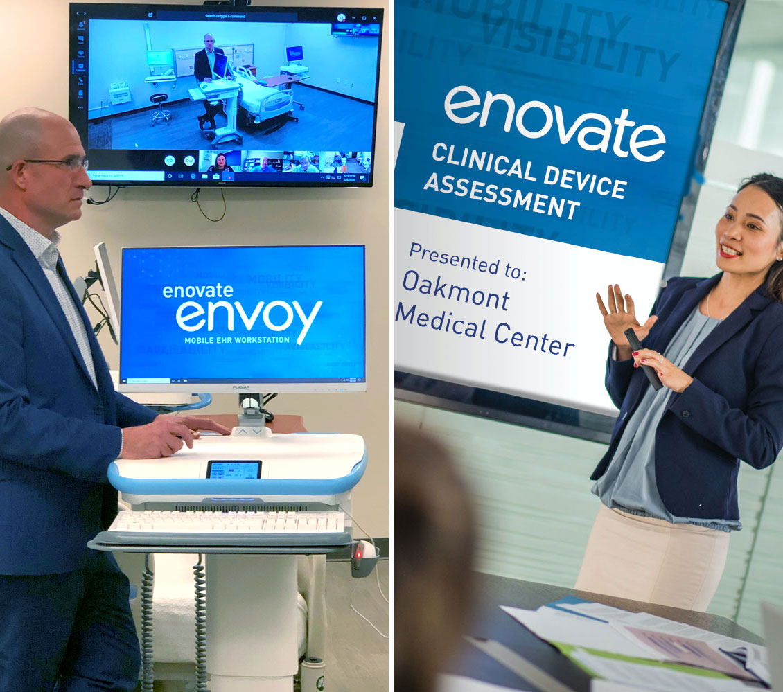 Enovate Medical Virtual Demo & Clinical Device Assessment