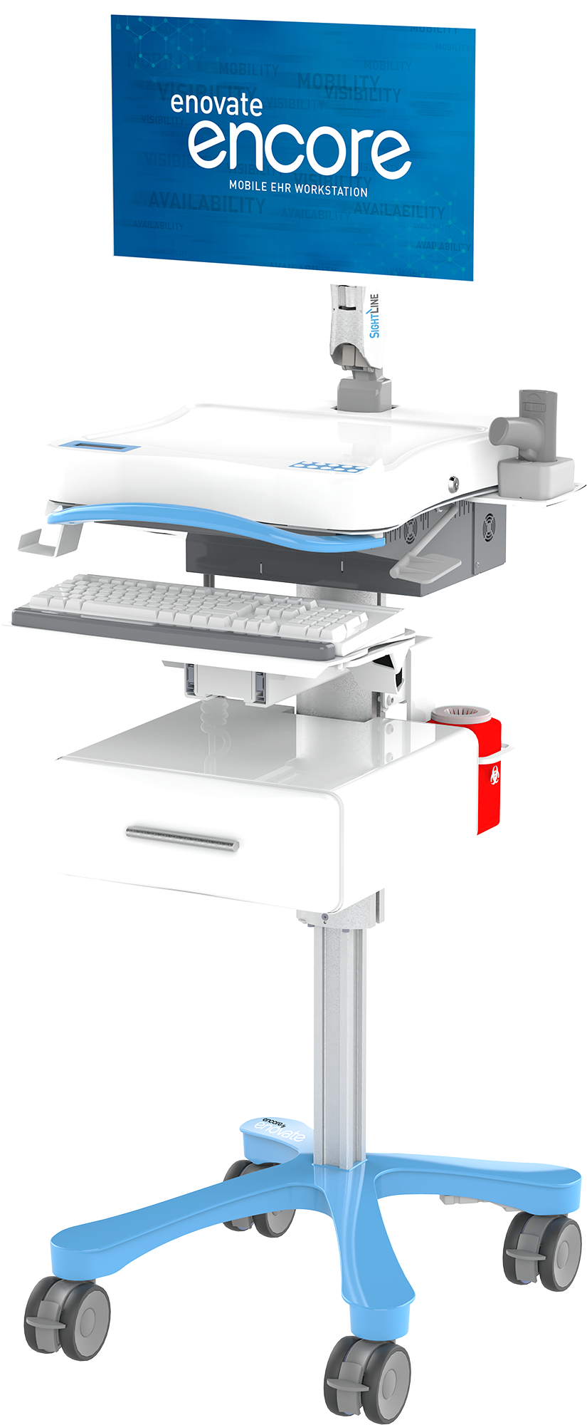 Encore EcoFlex for LCD with Drawer and Vaccine Accessories